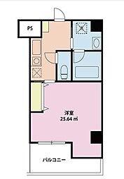 サポーレ松戸[6階]の間取り