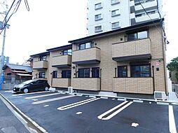 福岡県北九州市小倉北区三萩野1丁目の賃貸アパートの外観