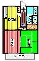 アーバニティーテラス[2階]の間取り