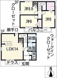 [一戸建] 三重県桑名市大字播磨 の賃貸【/】の間取り