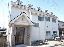 大阪府枚方市南中振1丁目の賃貸アパートの外観
