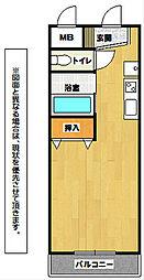 ロイヤルグリーンハイツ[2階]の間取り