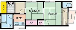 [一戸建] 神奈川県相模原市緑区相原2丁目 の賃貸【/】の間取り