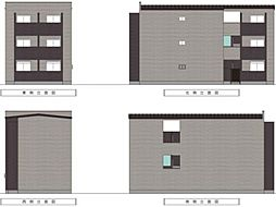 IoTアパートメント徳庵[1階]の外観