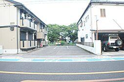 栃木県宇都宮市花園町の賃貸アパートの外観