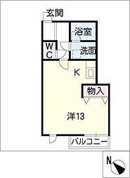 GISELE[2階]の間取り