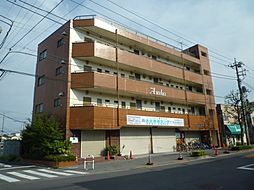 東京都足立区東伊興3丁目の賃貸マンションの外観