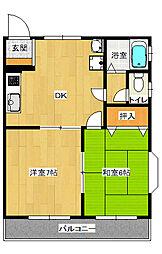 SKホーム201[2階]の間取り