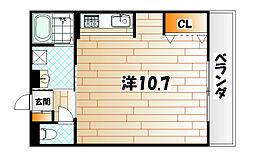 プリンスビル[1階]の間取り