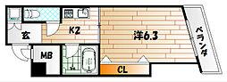 メゾンド高峰[3階]の間取り