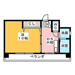 E−HOUSE[3階]の間取り