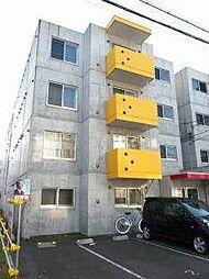 北海道札幌市西区琴似三条4丁目の賃貸マンションの外観
