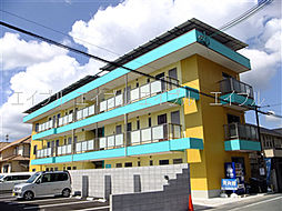 兵庫県姫路市飾磨区付城1丁目の賃貸マンションの外観
