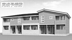 兵庫県姫路市香寺町広瀬森ガ坪の賃貸アパートの外観