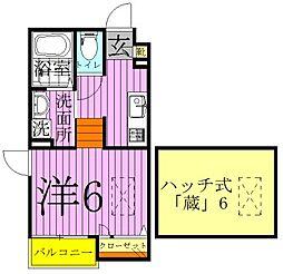 タカラコート1[1階]の間取り