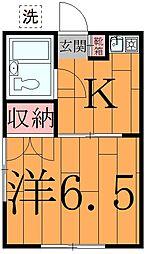 ル・ドルトア大塚[2階]の間取り
