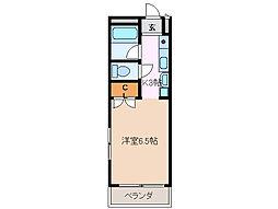 サンライフ高浜[1階]の間取り