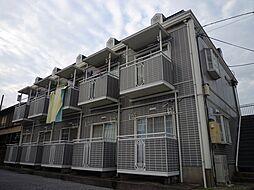 千葉県柏市東2丁目の賃貸アパートの外観