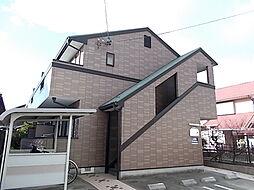 愛知県北名古屋市加島新田北浦の賃貸アパートの外観