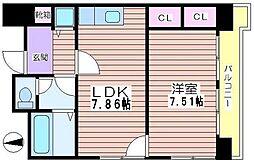 ホーユウパレス姫路広畑[903号室]の間取り