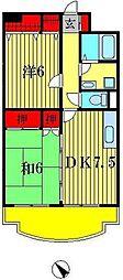 アデリアガーデン[5階]の間取り