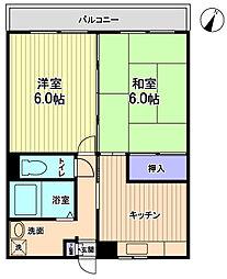 エスタシオン渋谷[1階]の間取り