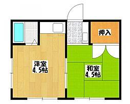 あづま荘[2階]の間取り