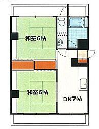 東京都板橋区大谷口2丁目の賃貸マンションの間取り