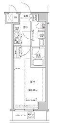 東京メトロ半蔵門線 住吉駅 徒歩10分の賃貸マンション 3階1Kの間取り