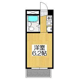グローシングマンション[3-A号室]の間取り
