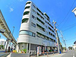 東京都足立区舎人2丁目の賃貸マンションの外観