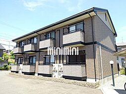 静岡県浜松市中区和合北2の賃貸アパートの外観