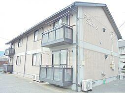 広島県福山市多治米町5丁目の賃貸アパートの外観