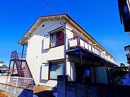 コーポ西久保B[1階]の外観