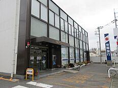 常陽銀行勝田西支店 555m
