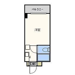 ラパンジール九条[6階]の間取り