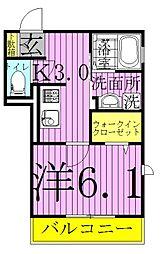 (仮)明原D-roomTV明原3丁目[201号室]の間取り