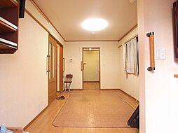 松ノ木3丁目整形地の戸建 1LDKの居間