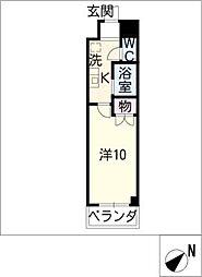 ステラ新栄[3階]の間取り