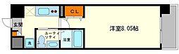 ウインズコート新大阪[2階]の間取り