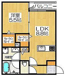 [タウンハウス] 京都府京都市南区上鳥羽鍋ケ淵町 の賃貸【/】の間取り