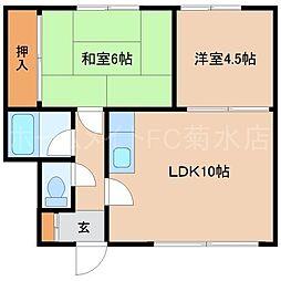 こんたマンション[2階]の間取り