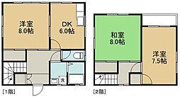 [一戸建] 岩手県盛岡市東見前1地割 の賃貸【/】の間取り