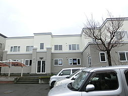 北海道札幌市手稲区富丘一条5丁目の賃貸アパートの外観