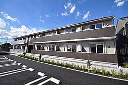 栃木県下都賀郡壬生町至宝2の賃貸アパートの外観