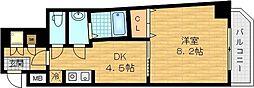 さんさん千林 6階1DKの間取り
