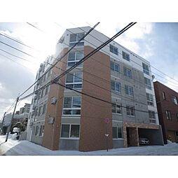 北海道札幌市豊平区月寒中央通10丁目の賃貸マンションの外観