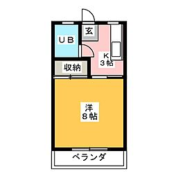 R'ZOO[2階]の間取り