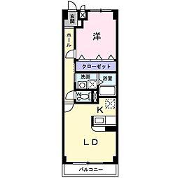 エトワールIWAKURA[0702号室]の間取り