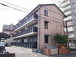 埼玉県春日部市中央1丁目の賃貸アパートの外観